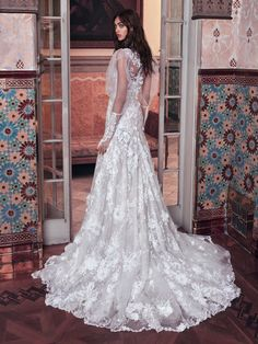 You're going to love this gorgeous new collection of Galia Lahav wedding dresses, luxurious, dramatic, sexy, bridal couture eye-candy.