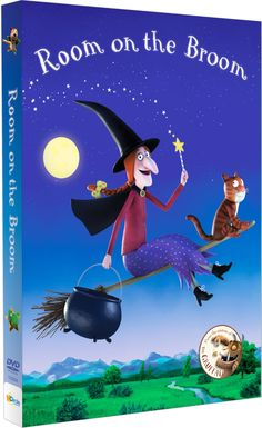 The Room on the Broom DVD is an animated version of a popular British picture book by author Julia Donaldson. Best Kid Movies, Good Movies, Room On The Broom, Film Base, Animated Cartoons, Easy Crafts For Kids, Animation Film, S Pic, Love Book