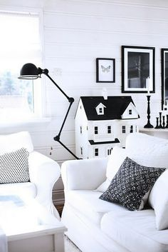 #black #white #decor