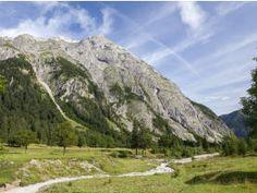 Postkartenpanorama Karwendelgebirge