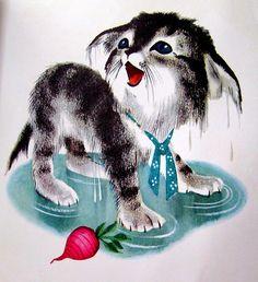 """""""Katie the Kitten"""" Illustrators Alice & Martin Provensen"""