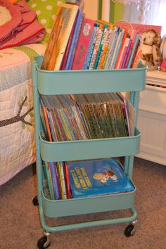 The O.C.D. Life: Children's Book Storage! Or art and crafts ;)