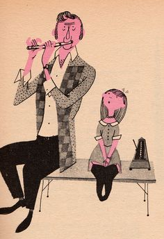 vintage book What Makes an Orchestra, illustrated by Jan Balet