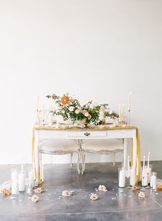 My favorite place is right next to you ~ Love us a Sweetheart table . Long Sleeve Wedding, Wedding Dress Sleeves, Berry Wedding, Wedding Flowers, Chic Vintage Brides, Vintage Champagne, Wedding Honeymoons, Sweetheart Table, Bridal Shoot