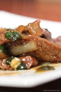 Recipe: Mongolian Beef (Corn Free / Dairy Free / Egg Free / Gluten Free / NIghtshade Free / Wheat Free)