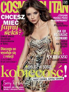Anna Przybylska by Marcin Kempski for Cosmopolitan