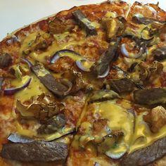 Voita ja Suolaa: Pizza Bearnaise
