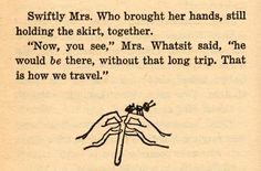 Image result for a wrinkle in time original book font type