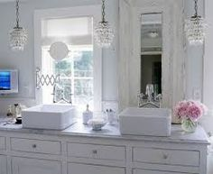 French country bathroom decor french country bathroom decor fabulous shabby chic bathroom cottage bathroom decor of Shabby Chic Kitchen Shelves, Cocina Shabby Chic, Estilo Shabby Chic, Kitchen Decor, Romantic Bathrooms, Chic Bathrooms, Beautiful Bathrooms, Luxurious Bathrooms, Dream Bathrooms