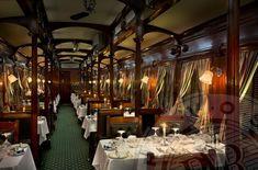 Travel Trends Luxury Train Travel --- www. Train Tracks, Train Rides, Pullman Train, Rail Train, Train Art, Train Tour, Old Trains, Vintage Trains, Rail Car