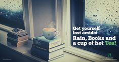 As the raindrops slide down the window pane and you sit by watching the downpour with your favorite book nestled in your lap, what goes missing?  Nothing, but a nice cup of hot brewing tea! Tea during monsoon is as surreal to taste as it sounds! Grab your cuppa to enjoy the silent pitter patter of monsoon rain!