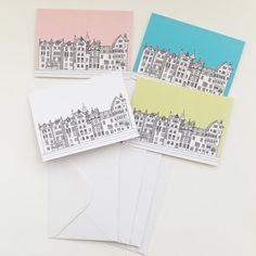 Set of 4 Edinburgh Cards £12.50