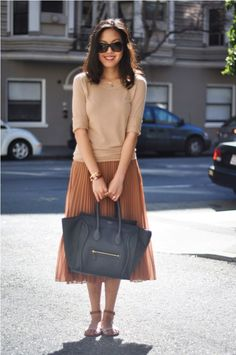 Tan and chic