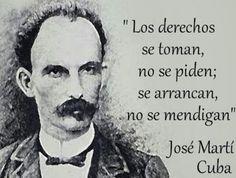 Vino y girasoles...: LOS DERECHOS NO SE PIDEN...