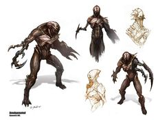 Academy of Art Character and Creature Design Notes