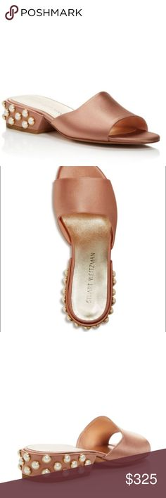 Stuart Weitzman (nwbox) Stuart Weitzman BRAND new, never worn! Authentic comes with box!!! Size 7. Original price on these are 445.00! Such a classy sandal goes with Denim, dresses, shorts, etc! True to size Stuart Weitzman Shoes Sandals
