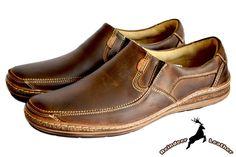 Duke Classic Brown Leather Slip On Mens Brown Loafers, Brown Loafer Shoes, Leather Loafer Shoes, Oxford Shoes, Classic Leather, Brown Leather, Leather Slip Ons, Chelsea Boots, Duke