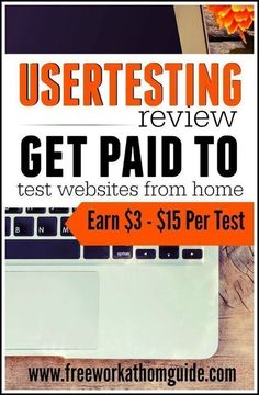 UserTesting is a well-known usability testing company that pay testers anywhere from $3 - $15 to complete tasks on website and apps while speaking their thoughts out loud.