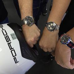 Gotta love the classics. Rolex, Porsche, Geek Stuff, Watches, Instagram Posts, Watch, Geek Things, Wristwatches, Clocks