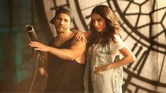 First look at Varun Dhawan & Shraddha Kapoor in a still from the new music video #Nawabzaade