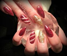Day 358: The Night Before Christmas Nail Art - Nails Magazine