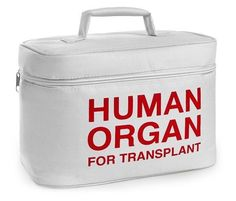 Human Organ Transplant Insulated Lunch Bag Box Cooler Doctor Nurse Ems Emt Emr