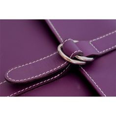 Nécessaire Hurbane - cuir violet