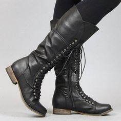 Lovely Clusters Shop | www.lovelyclustersshop.com: Knee High Boot
