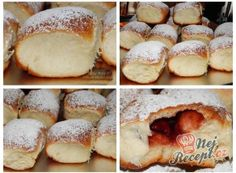 Grandma's booklets (from an ancient cookbook) Turkish Breakfast, Sweet Pastries, Sweet Cakes, Cakes And More, No Bake Desserts, Baked Goods, Cookie Recipes, Sweet Tooth, Bakery