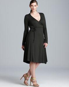 Rachel Pally White Label Plus Long Sleeve Wrap Dress | Bloomingdale's