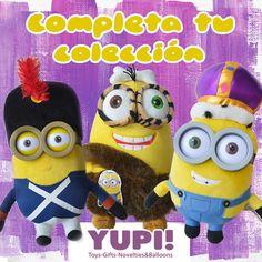 Completa la colección de #minions Encuéntralos en #Yupi #DiloConYupi!
