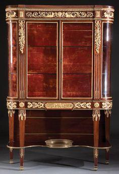 Louis XVI Style Vitrine