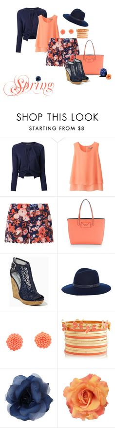 """""""Spring 8"""" by misshonee ❤ liked on Polyvore featuring Aida Barni, Uniqlo, Parisian, Marc by Marc Jacobs, rag & bone and Illuminare Cosmetics"""