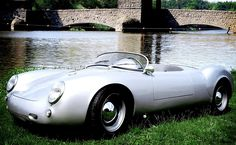 Don't have the scratch for a vintage, restored Porsche 550 Spyder? There's always the replica route. The Retromade Spyder Roadster will fool nearly any Porsche 356, My Dream Car, Dream Cars, Aston Martin Vanquish, Datsun 240z, Car Images, Cute Cars, Car Car, Cars Motorcycles