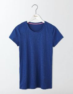 #Boden Lightweight Crew Tee Santorini Blue Women Boden, #The lightweight fabric makes this tee extra comfortable to wear, while the semi-fitted design is super flattering. Whats not to love? Team with laid-back jeans on off-duty days or a pencil skirt and jacket for an effortless 9-to-5 look.
