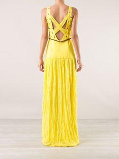 Emannuelle Junqueira Embellished Maxi Dress - Destination Brazil - Farfetch.com