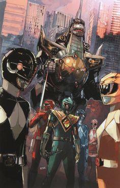 Mighty Morphin' Power Rangers & Dragonzord