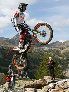 Toni Bou, Repsol Montesa, trials riding.