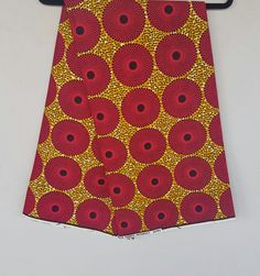 Mini waterput Ankara Afrikaanse Print / Ankara stof / Wax Print / Afrikaanse doek / lichte stof / helder materiaal