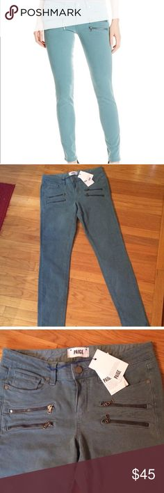 Paige Edgemont Awesome light blue Paige Edgemont jeans. Gently worn and in great condition. Paige Jeans Jeans Skinny
