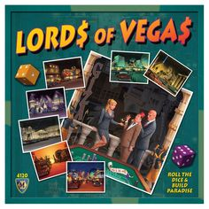 Mayfair Games Lords of Vegas Board Game