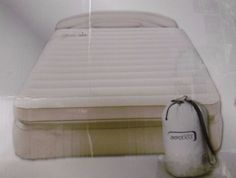 AEROBED QUEEN AIR MATTRESS with PUMP INFLATABLE INFLATABLE AIR BED incl. BED BAG #TheOriginalAerobed