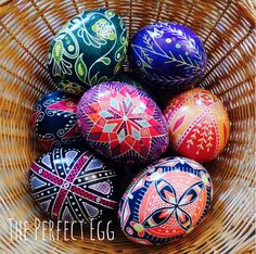 "Check out ""The Perfect Egg"" on Etsy for handmade Pysanky (Ukrainian Easter Eggs) https://www.etsy.com/shop/ThePerfectEGG"