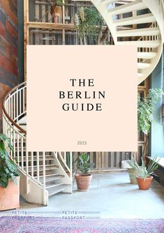 THE BERLIN GUIDE (PRINTED)