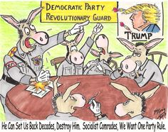 Democrats pledge a war of subversion against the future Trump Administration, in doing so they have  pledged a War of subversion against the U.S. Government.