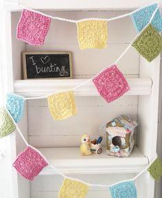 Look Here! Wonderful Crochet Garlands for Decoration - Fashion Blog