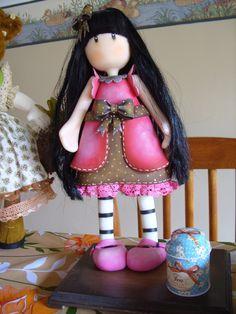 Gorjus feita por mim, de biscuit. By Rosangela Trujillo.