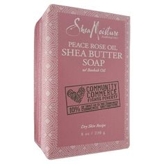 SheaMoisture Community Commerce Peace Rose Oil Shea Butter Soap - 8oz