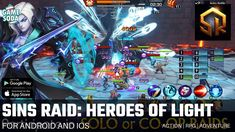 Sins Raid: Heroes of Light | Gameplay for Android and iOS | Action RPG | Gamesoda - YouTube Free Mobile Games, Battle, Android, Action, Adventure, Youtube, Rpg, Group Action, Adventure Movies