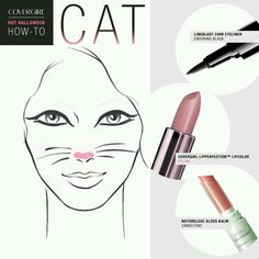 Cat makeup how to for Halloween Halloween Makeup Looks, Halloween Food For Party, Halloween Cat, Halloween Ideas, Halloween Costumes, Cat Makeup, Makeup Stuff, Makeup Ideas, Makeup At Home